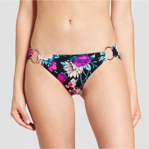 😀 New Shade & Shore Floral Ring Bikini Bottoms